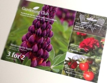 Garden centre postcard
