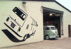 camper van showroom